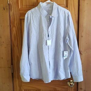 XL Calvin Klein button up shirt